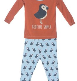 Kickee Pants 2 PC LS PJ Set. Boy