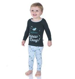 Kickee Pants Fall D2 Long Sleeve PJ Sets