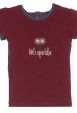 Kickee Pants puff tee.little sparkler.5y
