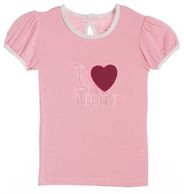 Kickee Pants Lotus I love Mom.5y