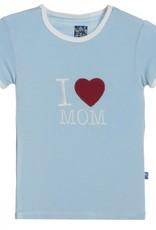 Kickee Pants Pond I love Mom.3t