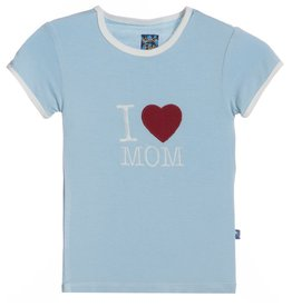 Kickee Pants Pond I love Mom.4t