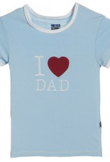 Kickee Pants Pond I love Dad.2t