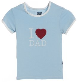 Kickee Pants Pond I love Dad.4t