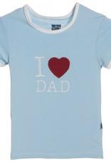 Kickee Pants Pond I love Dad.6y
