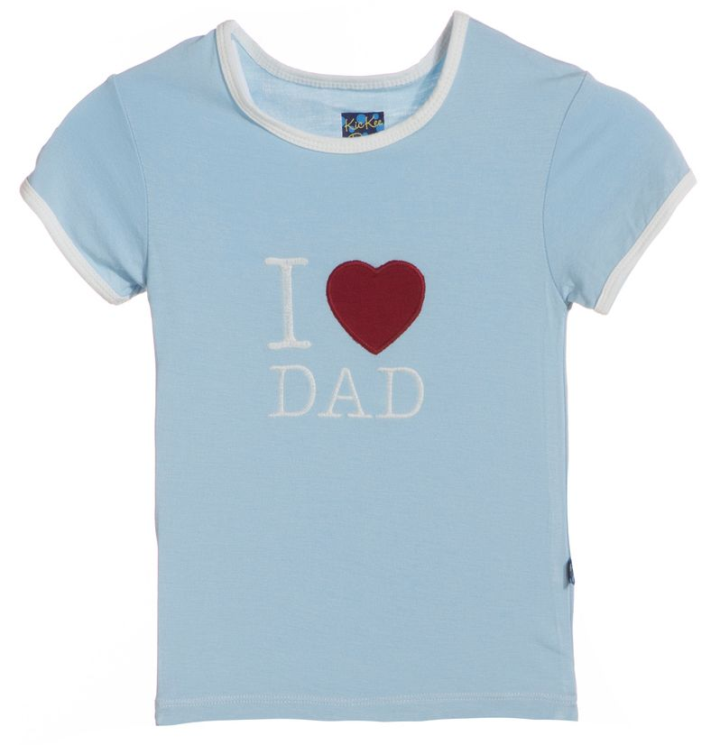 Kickee Pants Pond I love Dad.3t