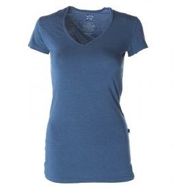 Kickee Pants Solid SS Shirt. Oasis. Small