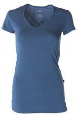 Kickee Pants Solid SS Shirt. Oasis. Large