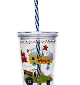 CR GIBSON tumbler/straw