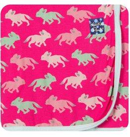 Kickee Pants Print Swaddling Blanket.Prickly Pear Desert Fox
