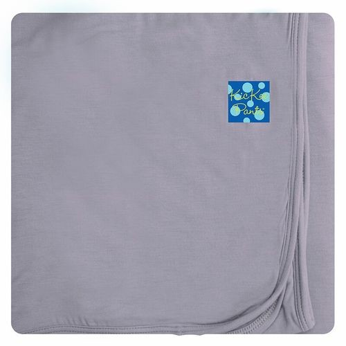 Kickee Pants Solid Stroller Blanket.Feather