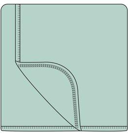Kickee Pants Solid Stroller Blanket.Aloe
