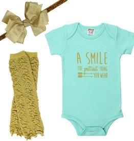 juDanzy smile gift set.12-18m