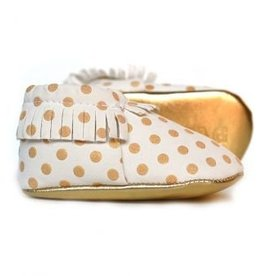 Sweet n Swag Moccasins.Gold Rush.5/6