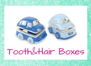 Tooth & Hair Boxes
