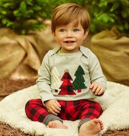 Mud Pie Alpine Tree 2 Piece Set