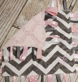 Lincoln&Lexi Pretty in Pink Chevron