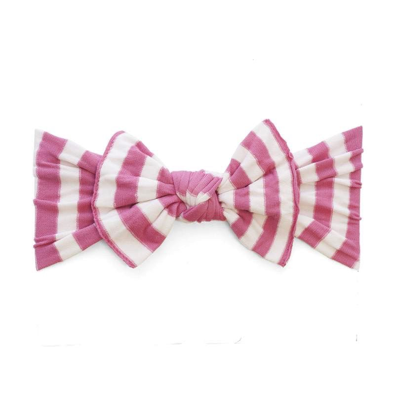 Baby Bling Patterned Knot (Pink Stripe)