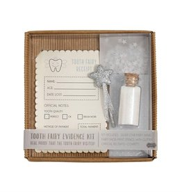 Mud Pie TOOTH FAIRY EVIDENCE KIT