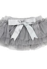 juDanzy sparkle tutu diaper cover.silver.0-6m