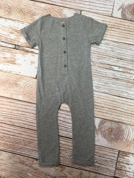 Grey Neutral Romper.24M