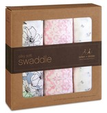 aden+anais meadowlark 3-pack silky soft swaddles