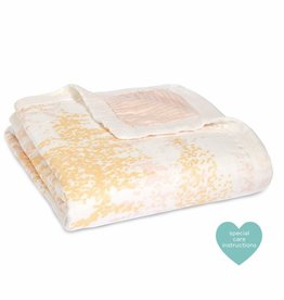 aden+anais metallic primrose birch silky soft dream blanket