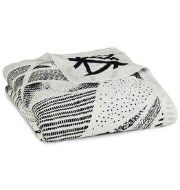 aden+anais midnight-stylo silky soft dream blanket