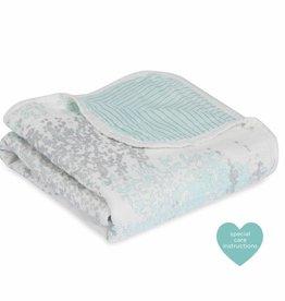 aden+anais metallic skylight birch silky soft stroller blanket
