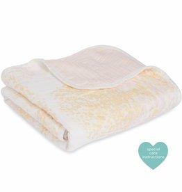 aden+anais metallic primrose birch silky soft stroller blanket