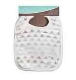 aden+anais metallic skylight birch 3-pack silky soft snap bibs