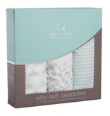 aden+anais metallic skylight birch 3pack silky soft swaddles