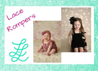 Lace Rompers