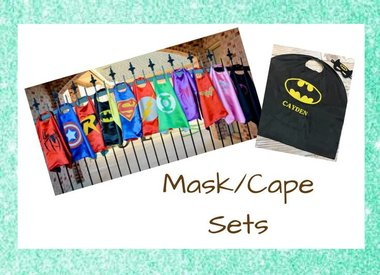 Superhero Capes/Masks