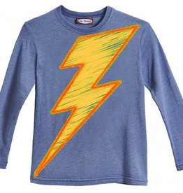City Threads LIGHTENING BOLT.LS.BLUE.6Y