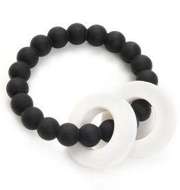 CHEWBEADS MULBERRY TEETHER-BLACK
