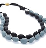 CHEWBEADS ASTOR NECKLACE.BLACK