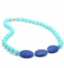 CHEWBEADS GREENWICH NECK-TURQUOISE