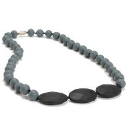 CHEWBEADS GREENWICH NECK-STORMY GREY