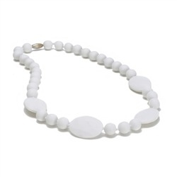 CHEWBEADS PERRY NECK-SIMPLY WHITE