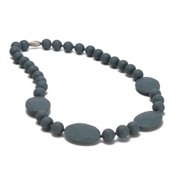 CHEWBEADS PERRY NECK-STORMY GREY