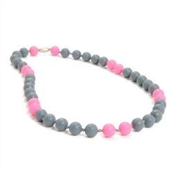CHEWBEADS WAVERLY NECKLACE.STORMY GRY
