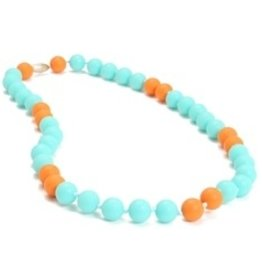 CHEWBEADS WAVERLY NECK-TURQUOISE