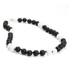 CHEWBEADS WAVERLY NECK-BLACK