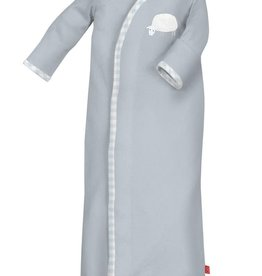 Magnificent Baby Blue Counting Sheep Modal Sack Gown+hat