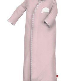Magnificent Baby Pink Counting Sheep Modal Sack Gown + Hat NB-3M
