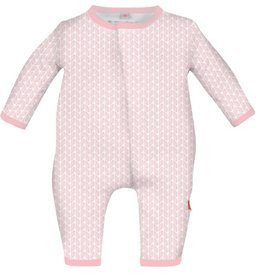 Magnificent Baby Pink Cable Leaf Modal Coverall