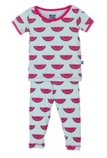 Kickee Pants Print Short Sleeve Pajama Set