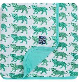 Kickee Pants Print Stroller Blanket (Natural Leopard)