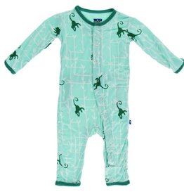Kickee Pants Print Coverall
